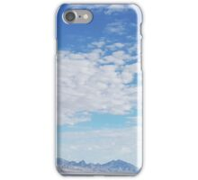 Bonneville Salt Flats iPhone Case/Skin