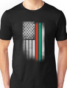 Bulgarian American Flag Unisex T-Shirt