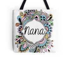 Custom Nana Design Tote Bag