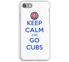 Go Cubs iPhone Case/Skin