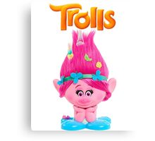 poppy trolls Canvas Print