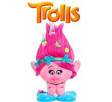 poppy trolls Photographic Print