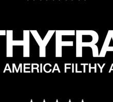 FILTHY FRANK 2020 PRESIDENTIAL CAMPAIGN STICKER Sticker