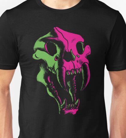 Saber Tooth Skull Unisex T-Shirt
