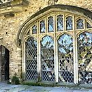 Medieval Wishing ( 12 ) =  The Main Window in the Great Hall. by Larry Lingard-Davis