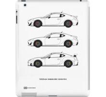Subaru BRZ/Scion FR-S/Toyota 86  iPad Case/Skin