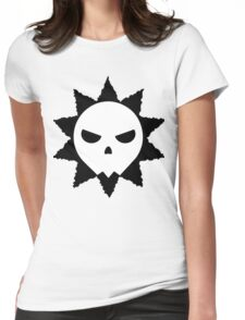 Sunny Skull Womens Fitted T-Shirt