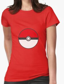 Big Pokeball Womens Fitted T-Shirt