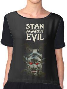 Stan Against Evil Series Chiffon Top