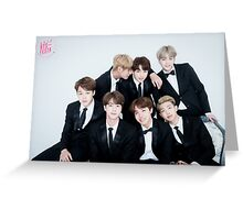 BTS ! Greeting Card