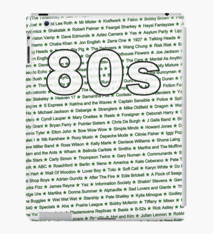 80s iPad Case/Skin
