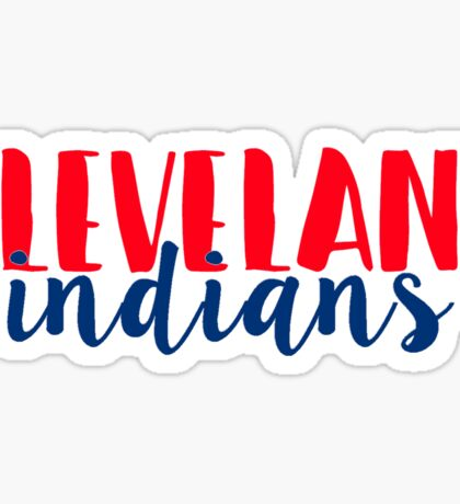 Cleveland Indians Sticker