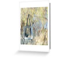The Easel Greeting Card