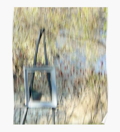 The Easel Poster