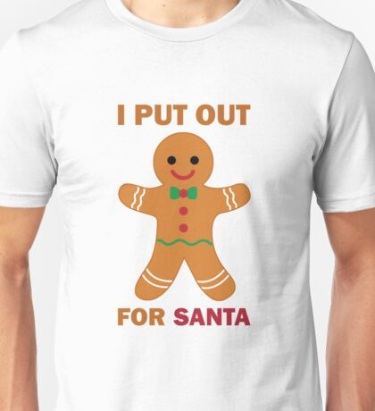 Cookies for Santa Unisex T-Shirt