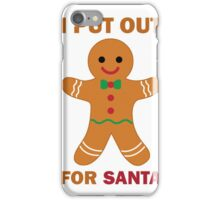 Cookies for Santa iPhone Case/Skin
