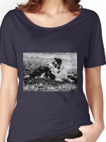 Border Collie 2 Women's Relaxed Fit T-Shirt