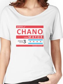 chano4mayor Women's Relaxed Fit T-Shirt