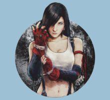 Tifa Lockhart FF7 Portrait One Piece - Short Sleeve