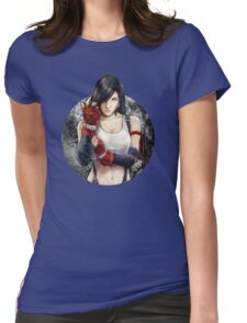 Tifa Lockhart FF7 Portrait Womens Fitted T-Shirt