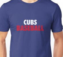 Clubs Baseball Gifts and Merchandise Unisex T-Shirt
