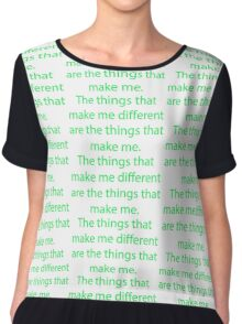 Winnie The Pooh - Winnie-The-Pooh Quote Chiffon Top