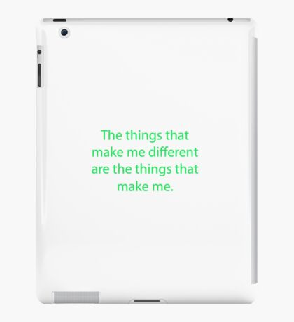Winnie The Pooh - Winnie-The-Pooh Quote iPad Case/Skin