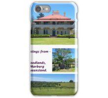 Woodlands Marburg 5x7 iPhone Case/Skin
