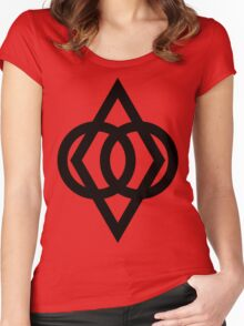 Protected (Black) Women's Fitted Scoop T-Shirt