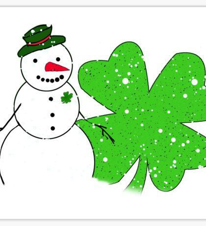 Snow Patrick Sticker