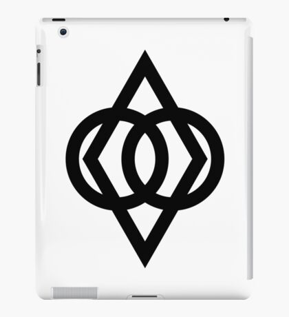 Protected (Black) iPad Case/Skin