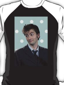 Tenth Doctor (with polka dots) T-Shirt