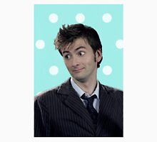 Tenth Doctor (with polka dots) Unisex T-Shirt