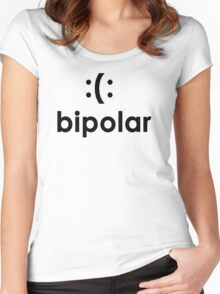 Bi polar T-shirt Funny cool T shirt T-Shirt cool Shirt mens T Shirt geek shirt geeky shirt (also available on crewnecks and hoodies) SM-5XL Women's Fitted Scoop T-Shirt