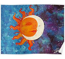 Solstice Acrylic Painting Poster