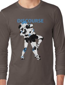 Blue Discourse Long Sleeve T-Shirt