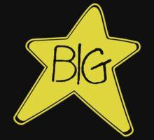 Big Star Rock Black T-shirt Sz S M L XL by beardburger