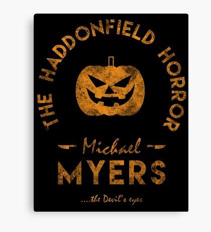 The Haddonfield Horror Canvas Print