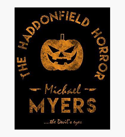 The Haddonfield Horror Photographic Print