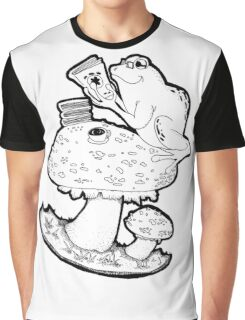 Bookish Frog Graphic T-Shirt