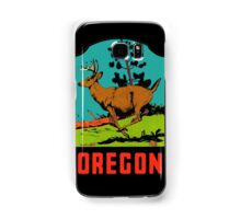 Oregon Vintage Travel Decal Samsung Galaxy Case/Skin