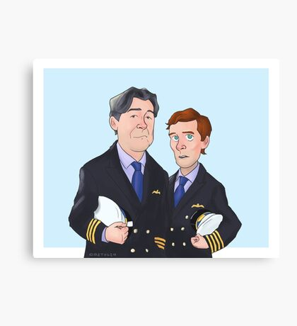 Douglas and Martin Canvas Print