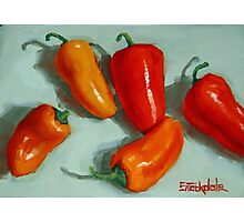 Mini Pepper Study No 3 Photographic Print