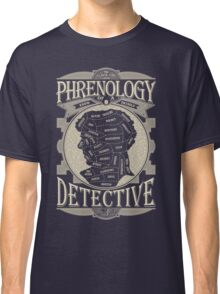 Phrenology of a detective - Sherlock Classic T-Shirt