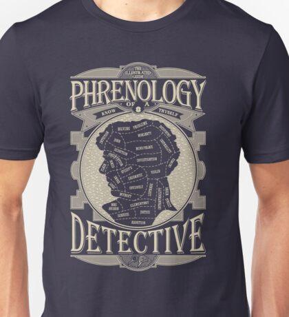 Phrenology of a detective - Sherlock Unisex T-Shirt