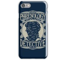 Phrenology of a detective - Sherlock iPhone Case/Skin