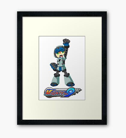 Mighty No. 9 Framed Print