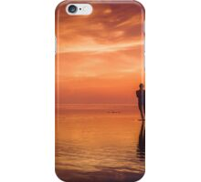Standing on Sunsets iPhone Case/Skin