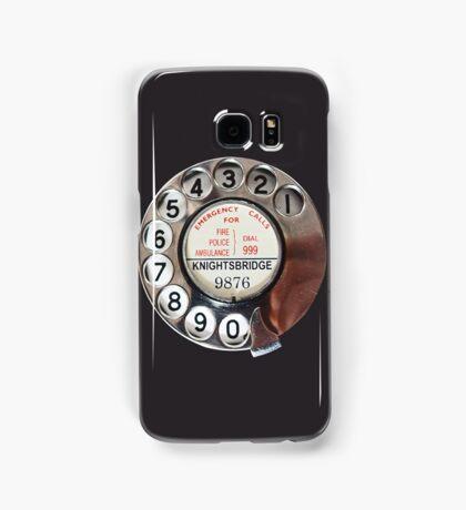 Retro Rotary Phone Dial On Samsung Galaxy Case/Skin