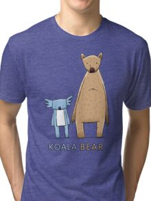 Cute Koala Bear Tri-blend T-Shirt